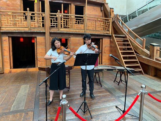 小提琴二重奏 《幽默曲》