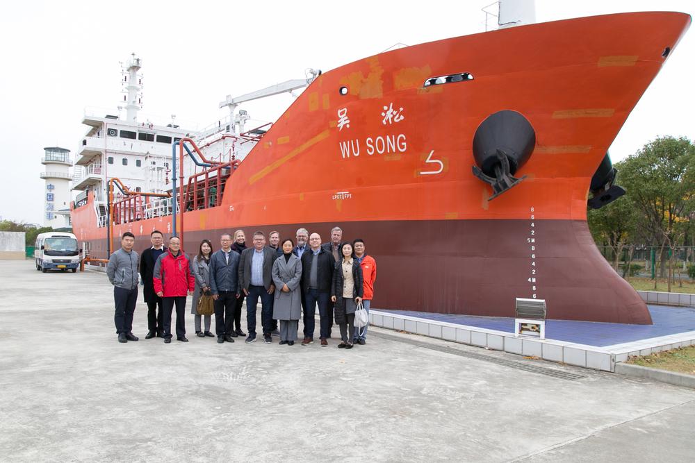 挪威海员集体协商联合代表团一行来访