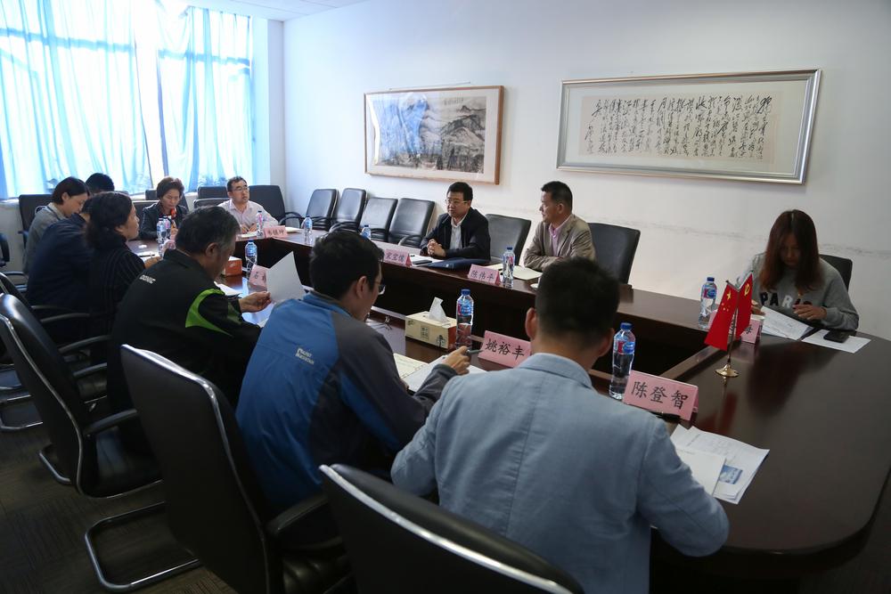 宋宝儒书记到文理调研指导主题教育工作