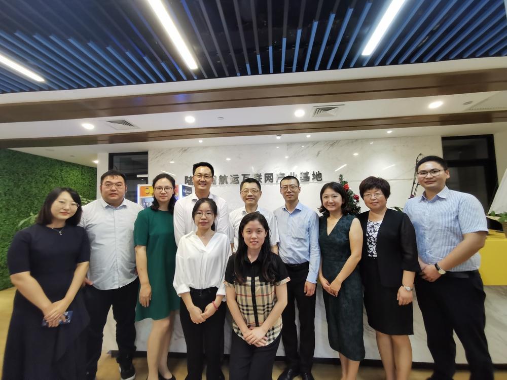 陆靖校长一行走访上海海际信息科技有限公司(航运界网)