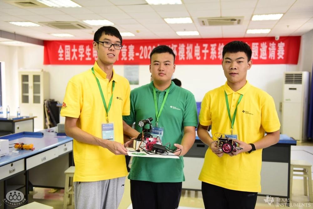 全国大学生电子设计竞赛- TI杯模拟电子系统邀请赛全国三等奖团队