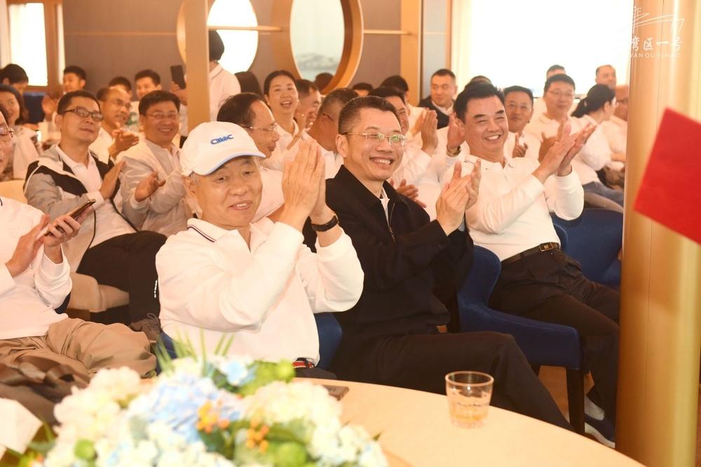 深圳校友会第二届理事会第一次会议现场