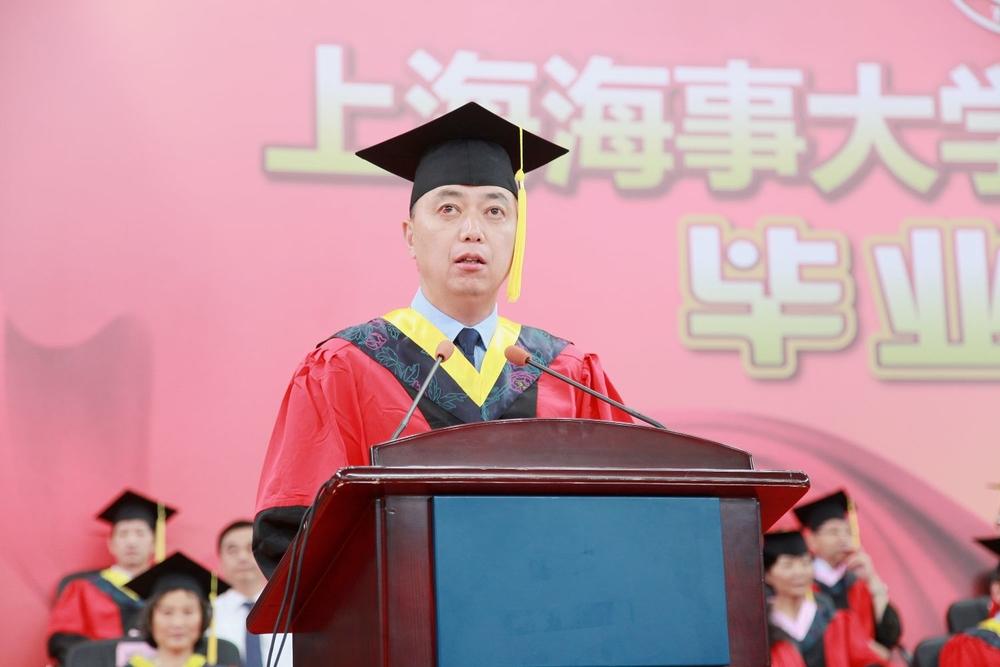 上海海事大学2013届本科生毕业典礼隆重举行