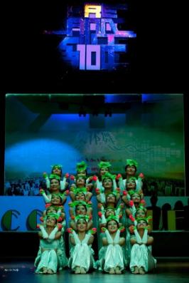 2010年,集体舞大赛迎来10周年