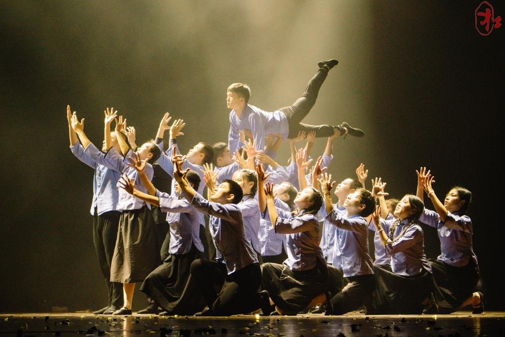 2018年,集体舞大赛主题为《时代》