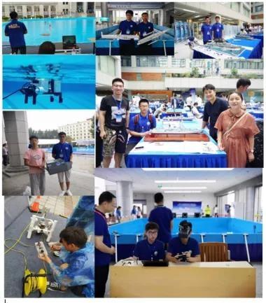 师生参与学科竞赛活动