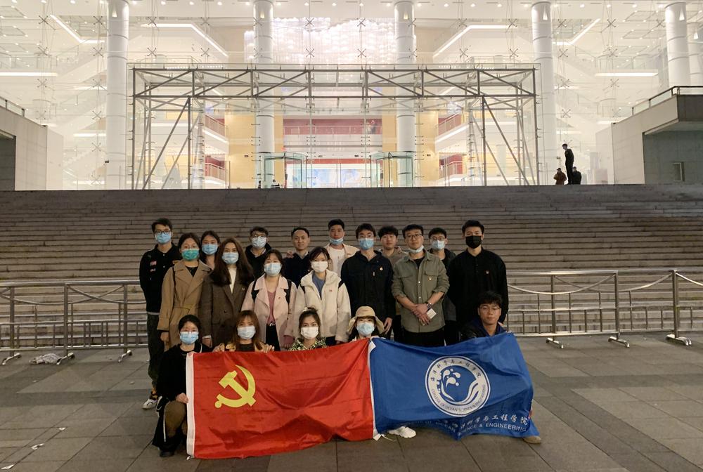 海洋科学与工程学院党委组织师生党员赴上海大剧院观看红色经典歌剧《江姐》