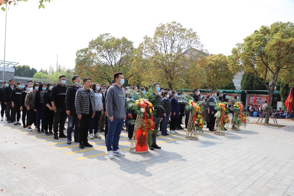 文理学院党委组织师生党员赴红色泥城主题馆祭奠英烈