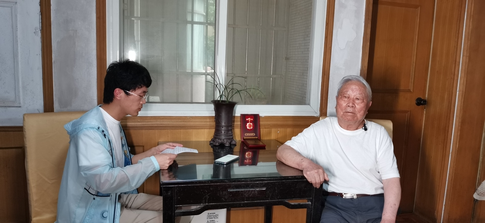国航物流18级(大三)学生党支部学生党员给刘树才老干部读支部写的信