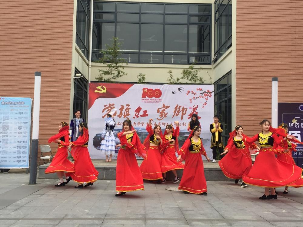 新疆队表演