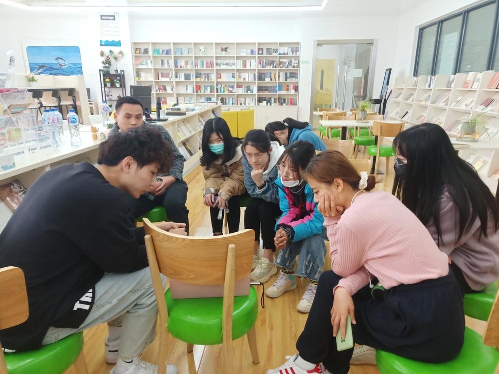机关党总支学生处党支部组织学生开展考研交流分享