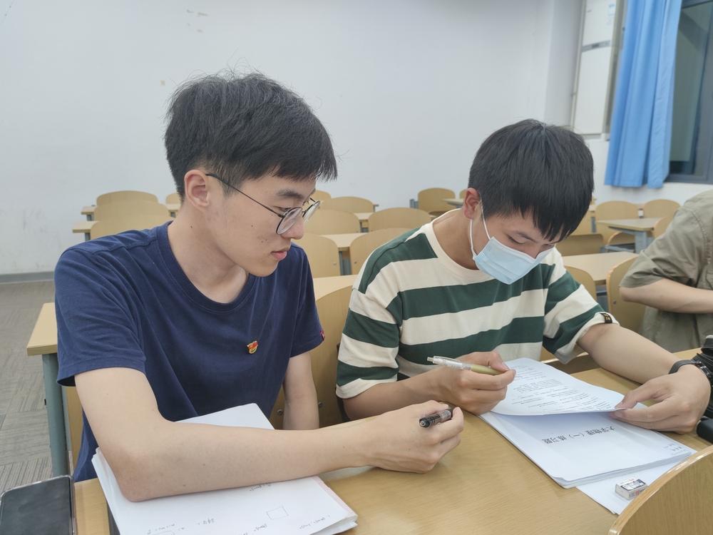 交通运输学院海博小老师开展大学物理课程一对一辅导