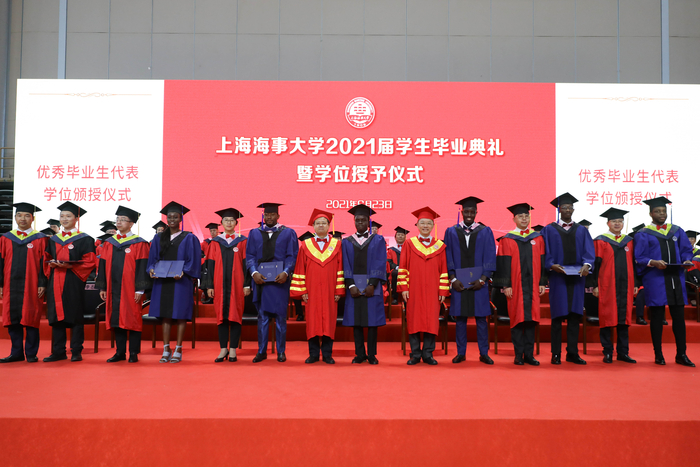优秀毕业生代表学位颁授仪式